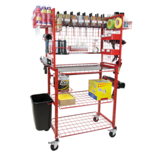 Automotive Paint and Body Carts